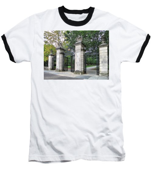 Princeton University Main Gate Baseball T-Shirt