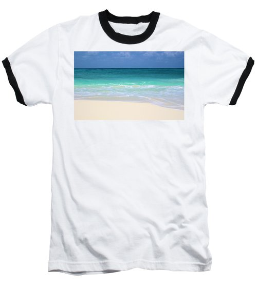 Pristine Beach Cancun Baseball T-Shirt