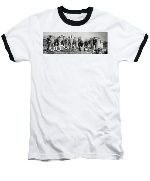 Prohibition Feds Destroy Liquor  1923 Baseball T-Shirt