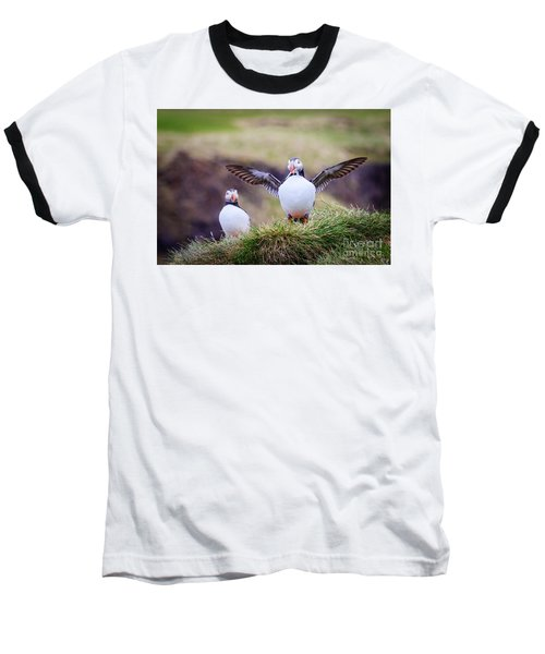 Proud Puffin Baseball T-Shirt