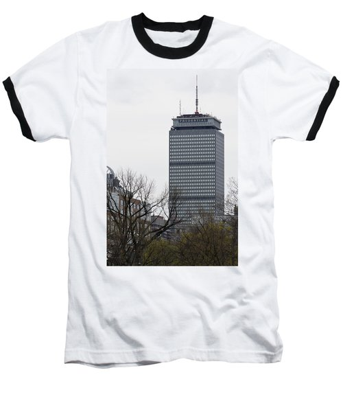 Prudential Tower Baseball T-Shirt
