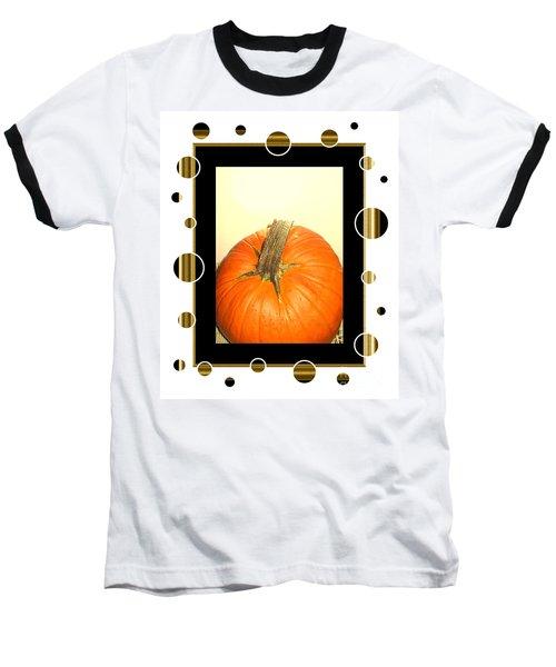 Pumpkin Card Baseball T-Shirt
