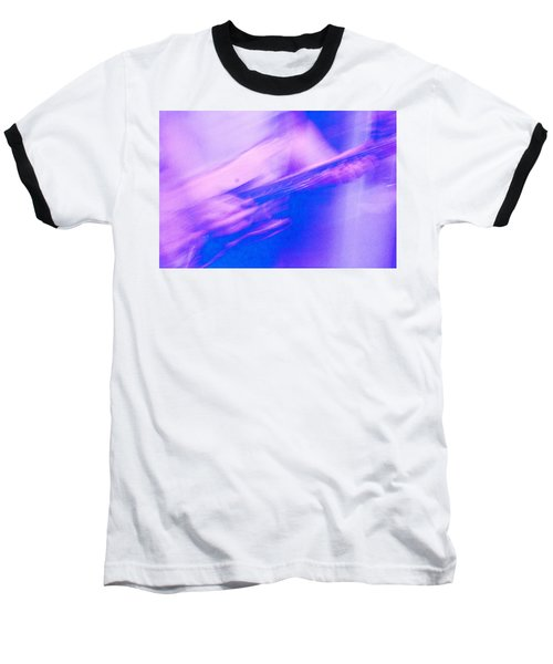 Baseball T-Shirt featuring the photograph Purple Haze by Alex Lapidus