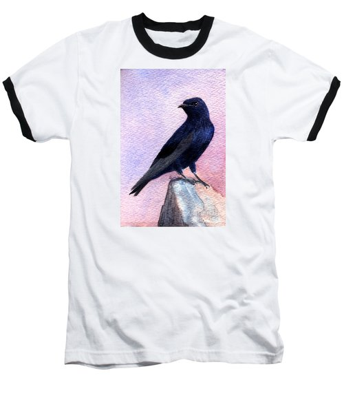 Purple Martin Baseball T-Shirt