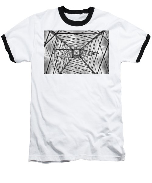 Baseball T-Shirt featuring the photograph Pylon by Howard Salmon
