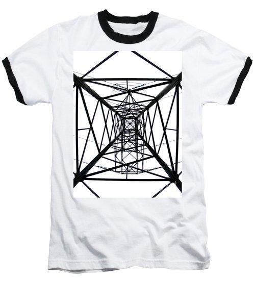 Baseball T-Shirt featuring the photograph Pylon by Nina Ficur Feenan