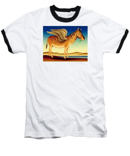 Quagga Baseball T-Shirt by Frances Broomfield