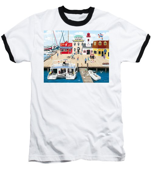 Quartet At The Quay Baseball T-Shirt