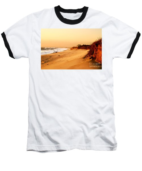 Quiet Summer Sunset Baseball T-Shirt