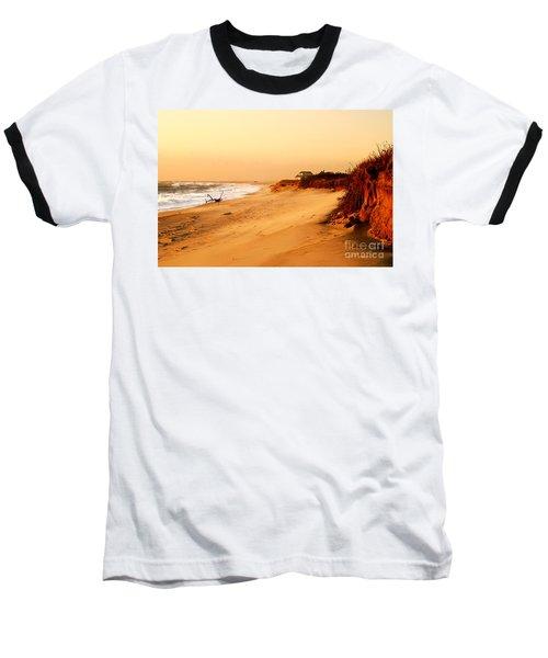 Quiet Summer Sunset Baseball T-Shirt