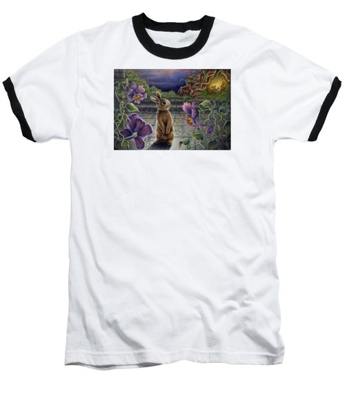 Rabbit Dreams Baseball T-Shirt