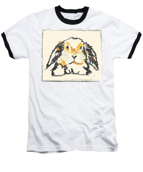 Rabbit Jon Baseball T-Shirt by Go Van Kampen