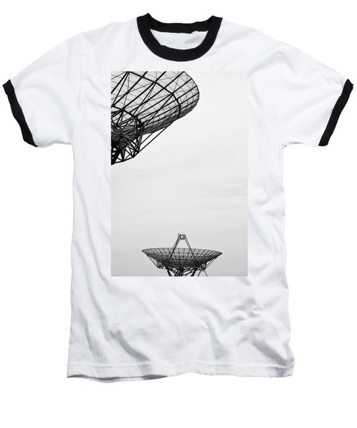 Radiotelescope Antennas.  Baseball T-Shirt