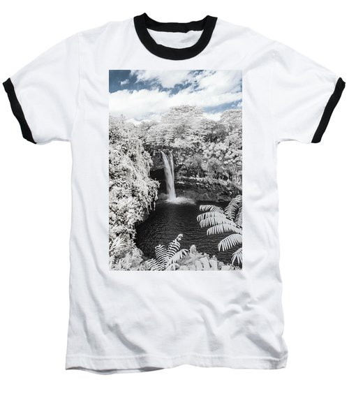 Rainbow Falls In Infrared 1 Baseball T-Shirt