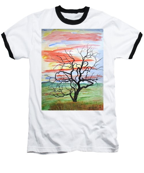 Rainbow Mesquite Baseball T-Shirt