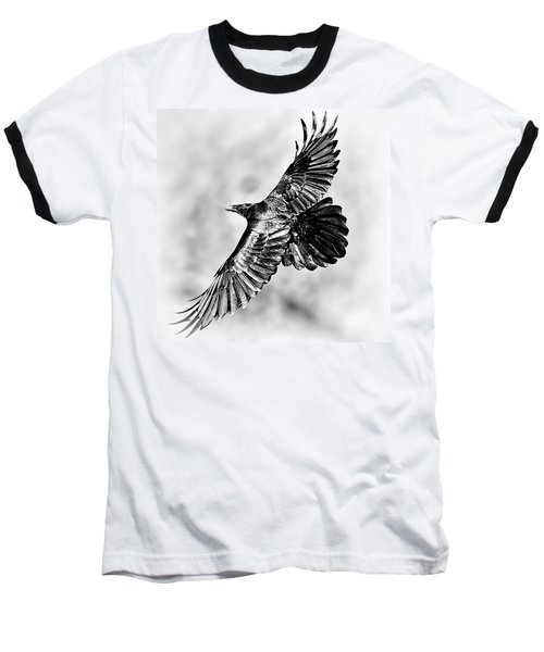 Raven Of Death Valley Baseball T-Shirt