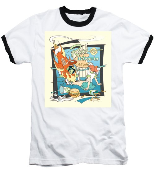 Ray's Drive-in - Redhead Baseball T-Shirt