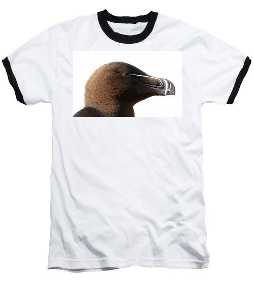 Razorbill Auk Baseball T-Shirt by Jeannette Hunt