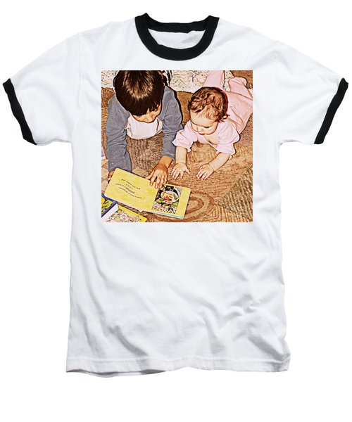 Story Time Baseball T-Shirt by Valerie Reeves