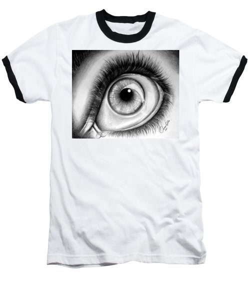 Realistic Eye Baseball T-Shirt