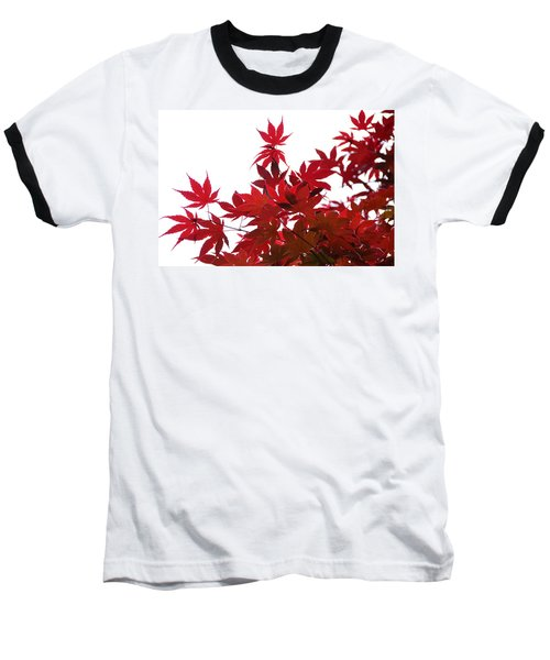 Red And White Baseball T-Shirt