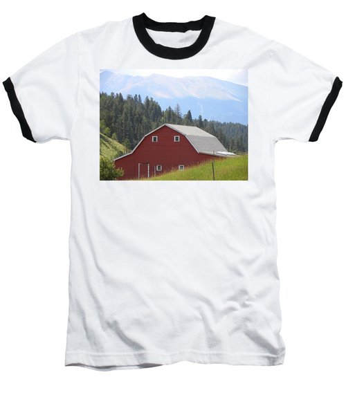 Barn - Pikes Peak Burgess Res Divide Co Baseball T-Shirt