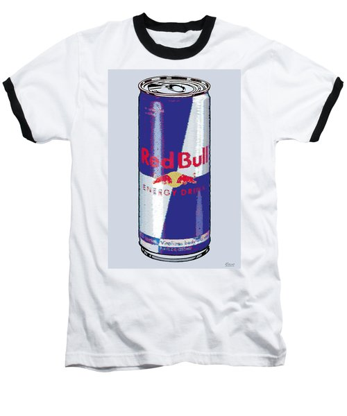 Red Bull Ode To Andy Warhol Baseball T-Shirt