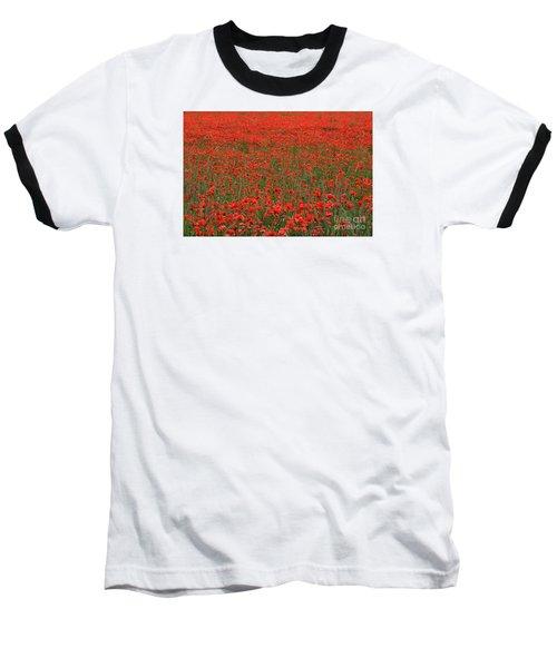 Red Field Baseball T-Shirt