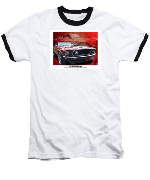 Boss Mustang Baseball T-Shirt by Kenneth De Tore