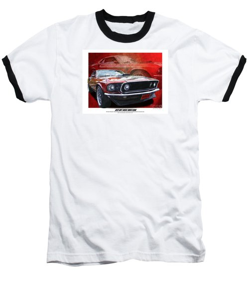 Boss Mustang Baseball T-Shirt
