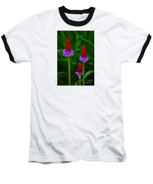 Red Hot Pokers Baseball T-Shirt