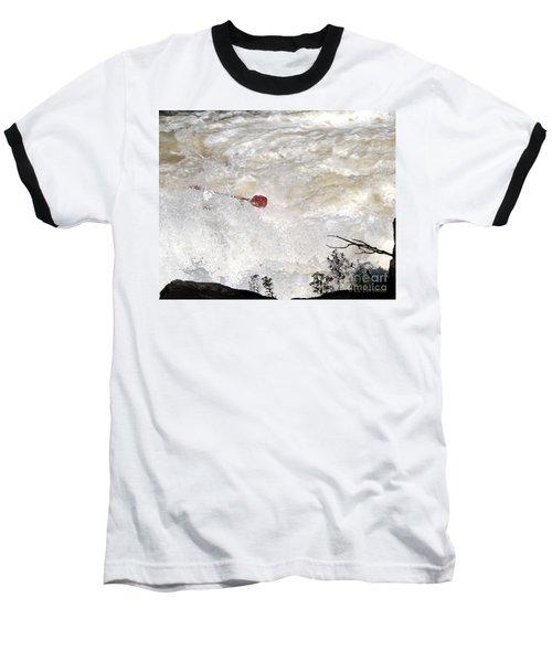 Red Paddle Baseball T-Shirt