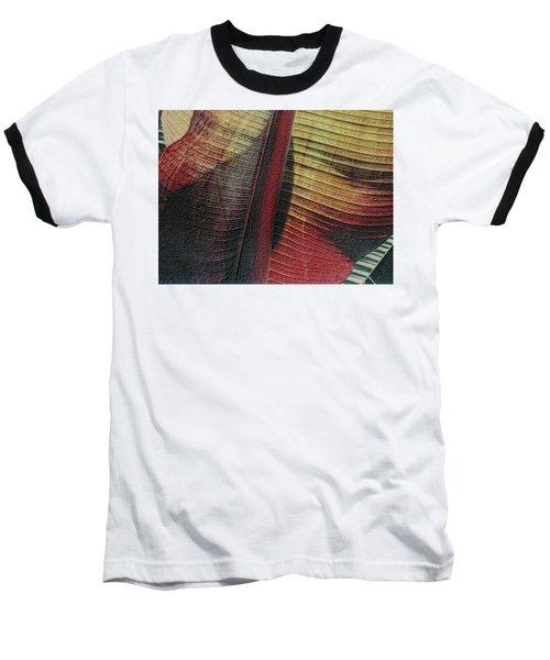 Red Palm Baseball T-Shirt