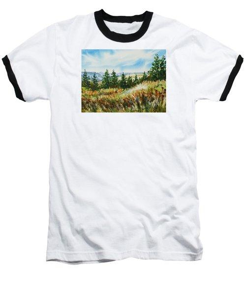 Red Rock View Road Baseball T-Shirt