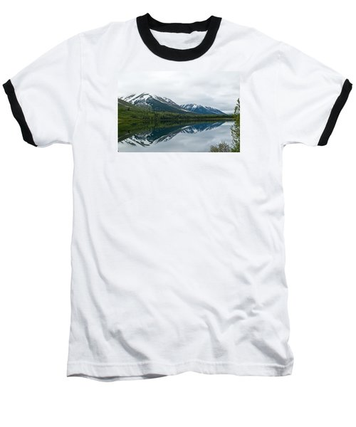Reflection Montana  Baseball T-Shirt