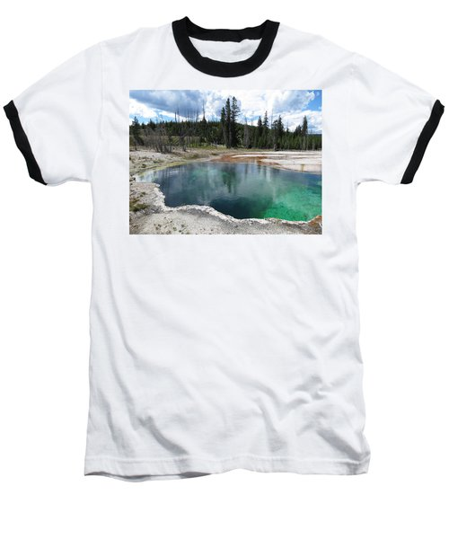 Baseball T-Shirt featuring the photograph Reflection by Laurel Powell