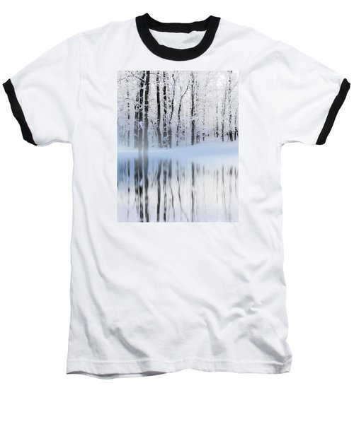 Reflection On A Dream Collingwood, On Baseball T-Shirt by Andrea Kollo