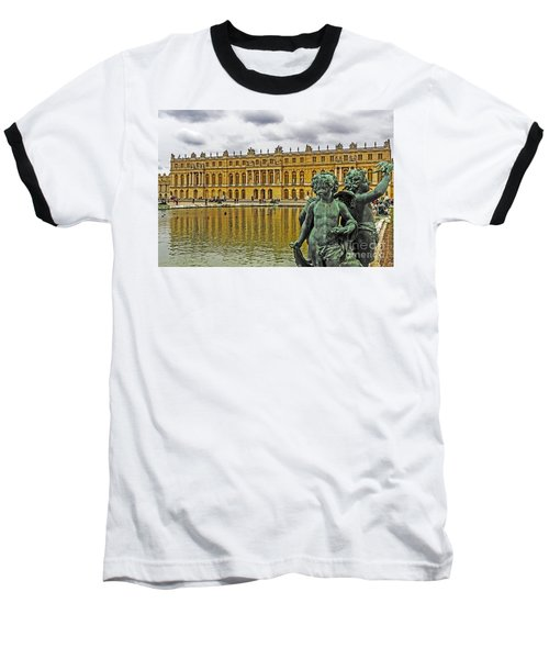 Reflection Pool Of Versailles Baseball T-Shirt