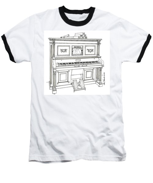 Regina Player Piano Baseball T-Shirt
