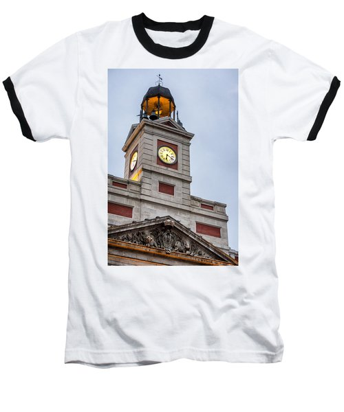 Reloj De Gobernacion 2 Baseball T-Shirt