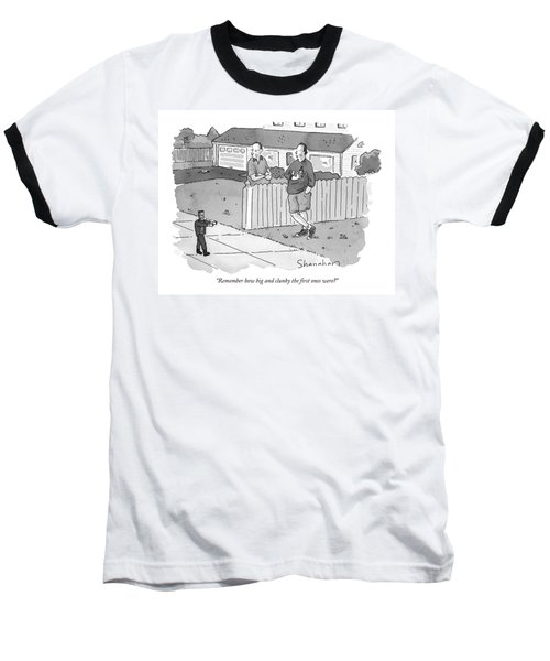 Remember How Big And Clunky The First Ones Were? Baseball T-Shirt