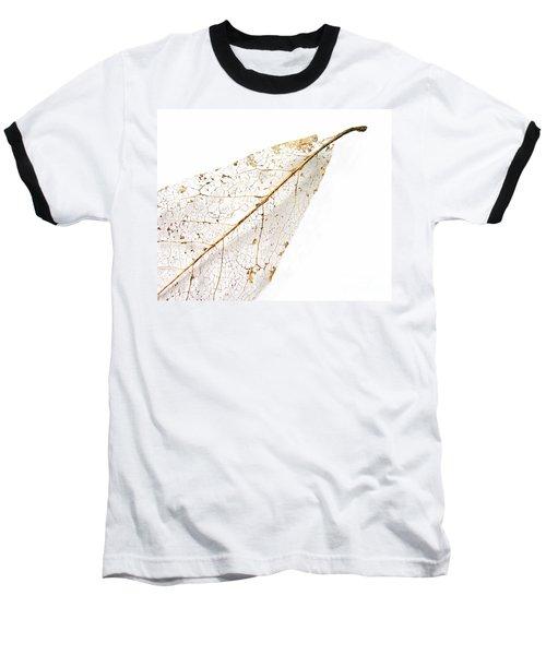 Remnant Leaf Baseball T-Shirt by Ann Horn