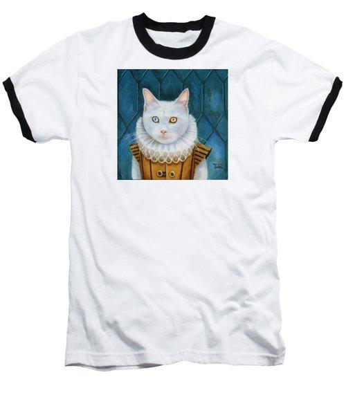 Renaissance Cat Baseball T-Shirt by Terry Webb Harshman