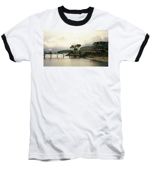 Baseball T-Shirt featuring the photograph Resort In Bar Harbor by Judith Morris