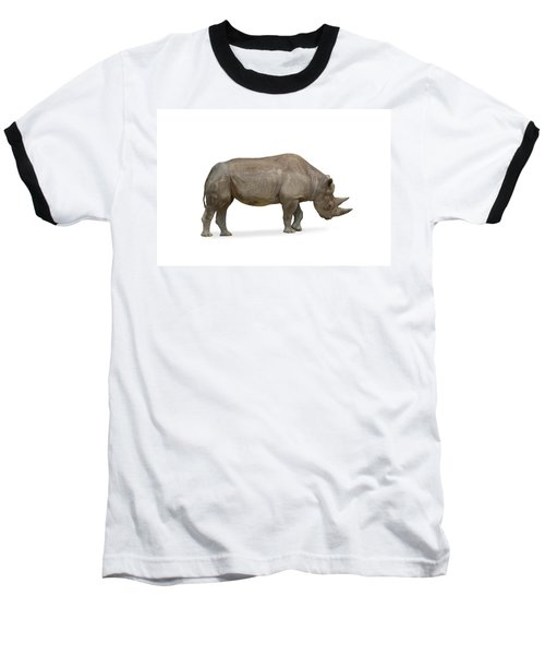 Baseball T-Shirt featuring the photograph Rhinoceros by Charles Beeler