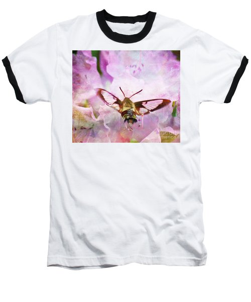 Rhododendron Dreams Baseball T-Shirt by Kerri Farley