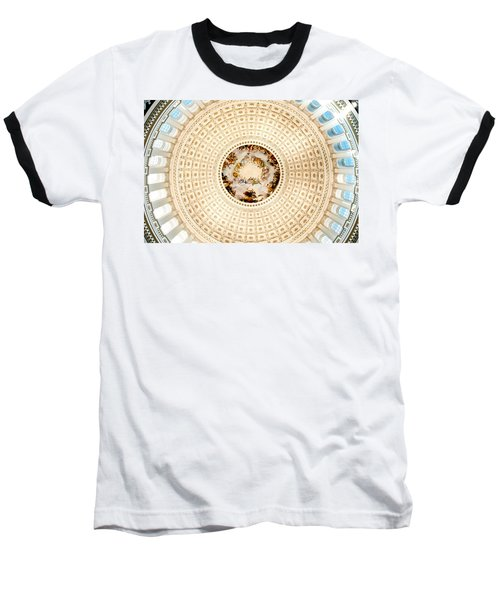 Ring Around The Capitol Baseball T-Shirt