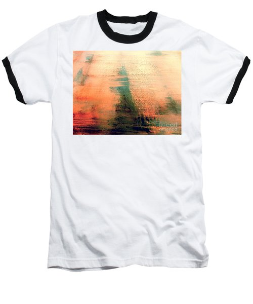Baseball T-Shirt featuring the painting Rise by Jacqueline McReynolds