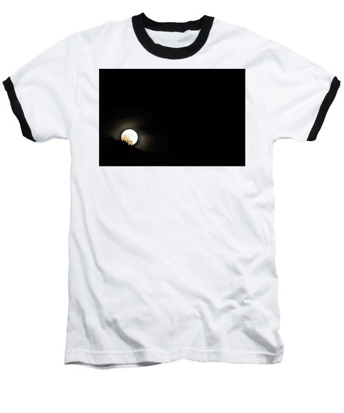 Rising Moon Baseball T-Shirt