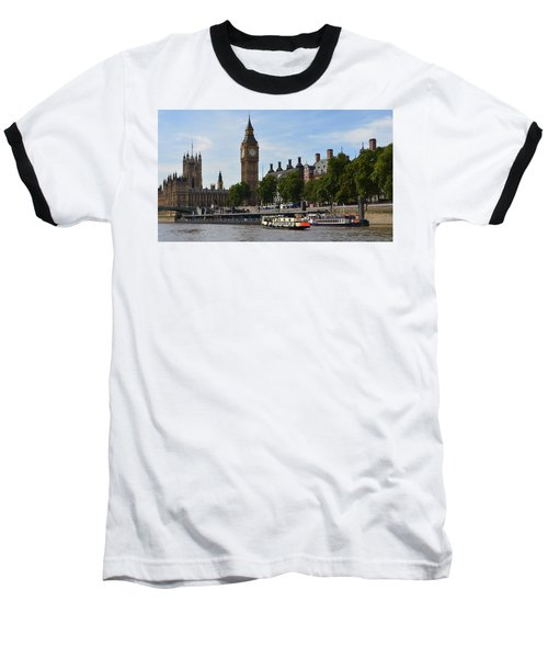 River Thames View Baseball T-Shirt